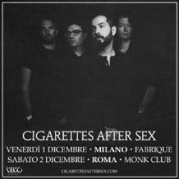 Cigarettes After Sex biglietti