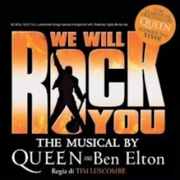 We Will Rock You biglietti