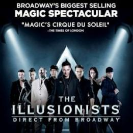 The Illusionists biglietti